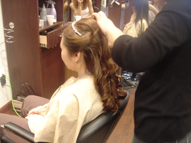 Miss Butterfly's Hair Trail and My Perm :  wedding hair new york Hair10 hair10.jpg