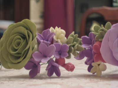 Clay Flowers: Filler Flower Tutorial :  wedding crafts diy flowers tutorial Img 83501