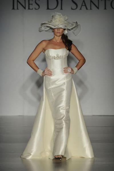 Bridal Market 2010 - Ines Di Santo :  wedding bridal market 2010  Val0267 _VAL0267