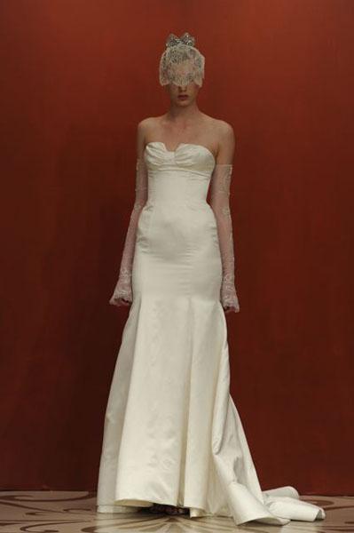 Bridal Market 2010 - Reem Acra :  wedding bridal market 2010  Val0859 _VAL0859