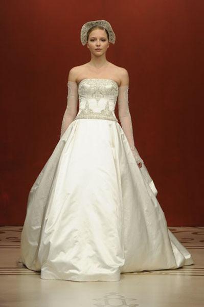 Bridal Market 2010 - Reem Acra :  wedding bridal market 2010  Val0980 _VAL0980