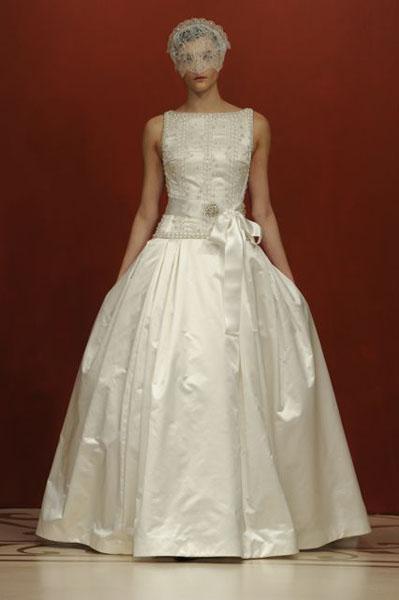 Bridal Market 2010 - Reem Acra :  wedding bridal market 2010  Val1018 _VAL1018