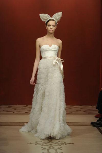 Bridal Market 2010 - Reem Acra :  wedding bridal market 2010  Val1291 _VAL1291