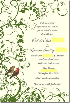 Thoughts on Inviting 400 People :  wedding dallas invitations stationery 1 Invite JPEG