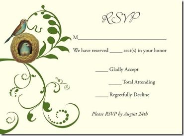 Thoughts on Inviting 400 People :  wedding dallas invitations stationery 4 RSVP JPEG