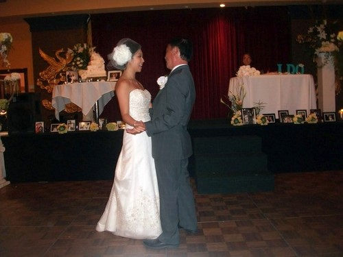 With this Wing: Dancin' with my Daddy  :  wedding pictures pro pics recap san diego Marcia0 Marcia0