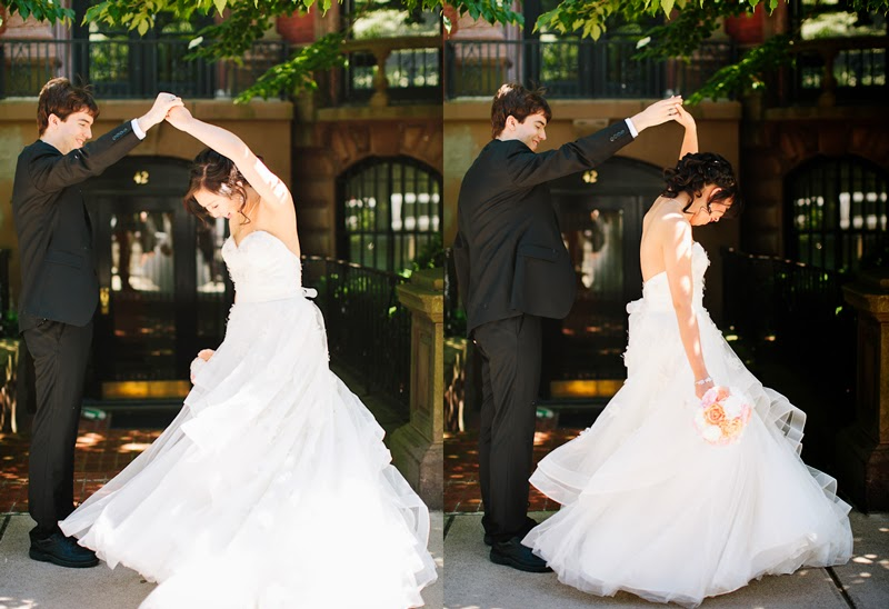 Bamboo for Two: A Twirl and a First Look :  wedding boston pictures pro pics recap Twirlin01 twirlin01
