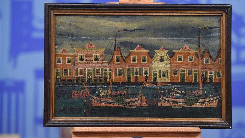 19th Century Dutch Folk Art Painting Antiques Roadshow Pbs