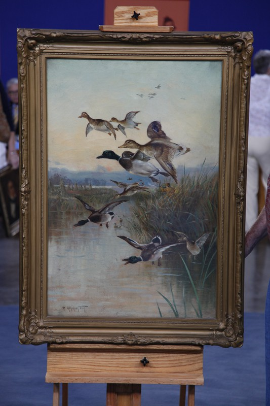 Early 20th Century Robert Atkinson Fox Oil Painting Antiques Roadshow Pbs