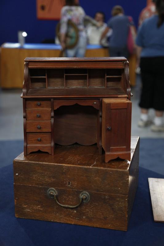 Salesmans Sample Rolltop Desk Ca 1890 Antiques