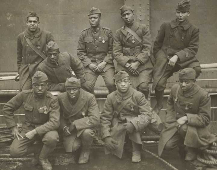 African American Troops 1917 1918 Courtesy Nara