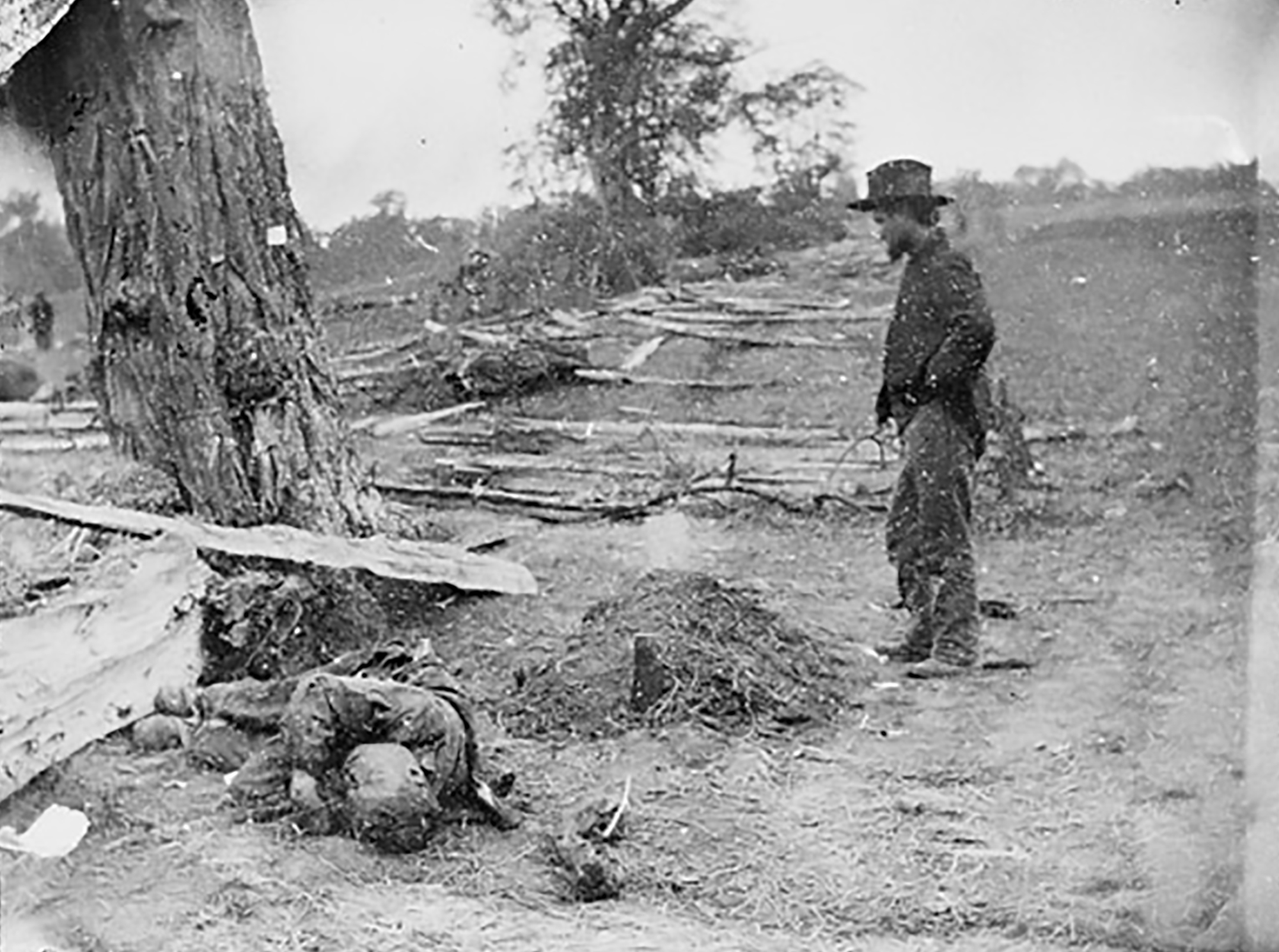 Images From The Civil War Battlefields