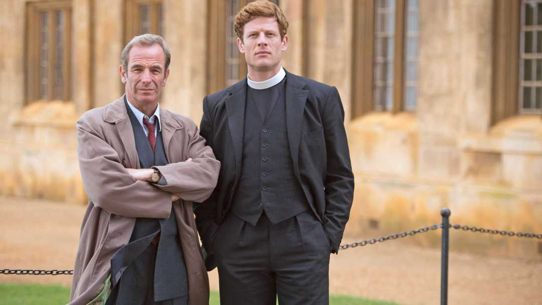 geordie and sidney from grantchester