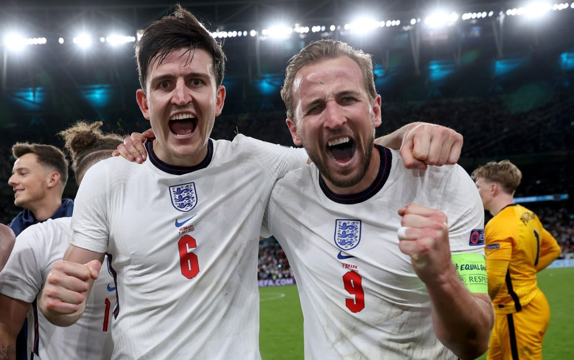 England have reached their first major final since 1966