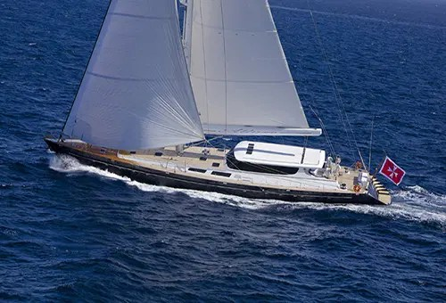 ALLURE Yacht Charter 133 Sterling Sailing Yacht