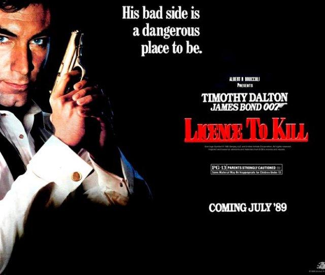 James Bond Movie Licence To Kill