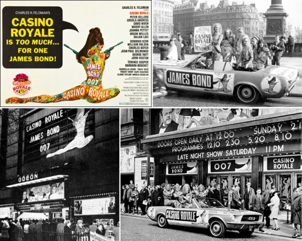 Casino Royale' premieres in London 50 years ago #OnThisDay #OTD (Apr