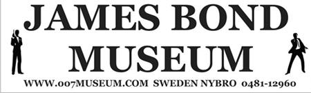 James Bond 007 Museum 0481-12960  Nybro Sweden