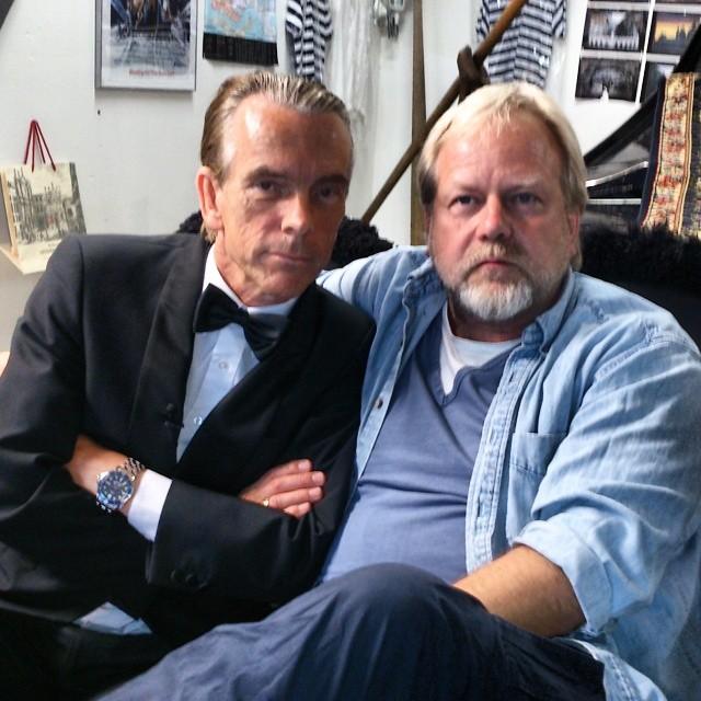 Peter Apelgren underbara semesteräventyr hos James Bond Gunnar Schäfer i Nybro i James Bond 007 Museum Sverige