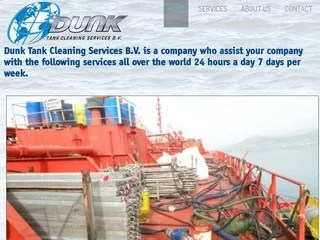 Drupal webdesign Dunk Tank Cleaning Services