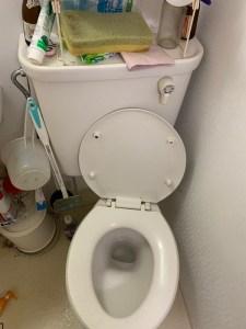 泉佐野市トイレつまり
