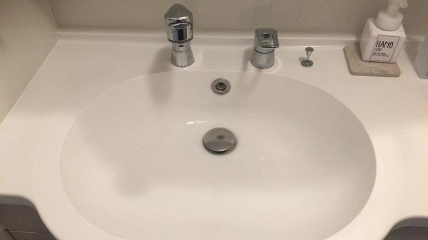 泉大津市にて洗面の水漏れ修理してきました。