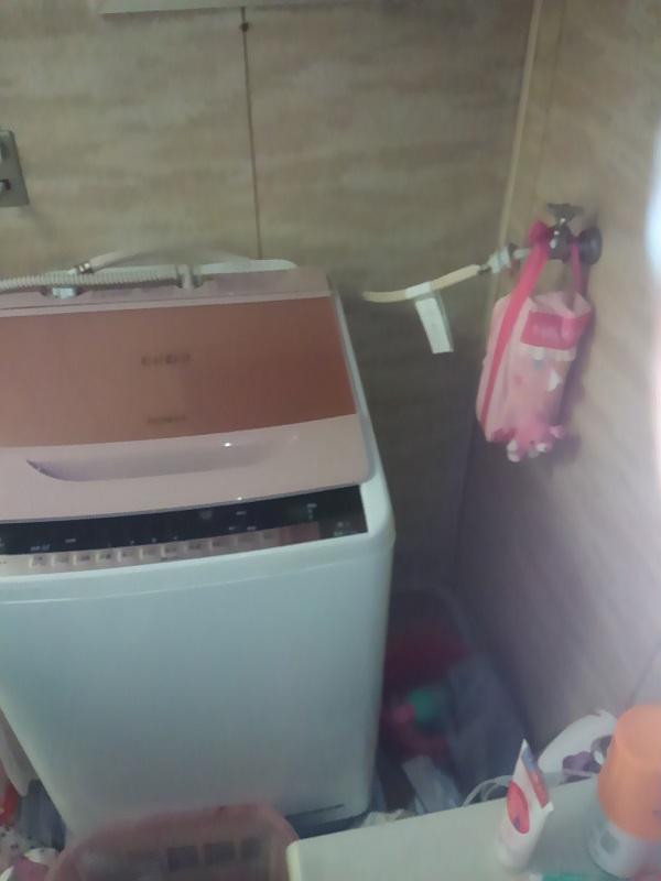 大阪府大阪市住吉区で洗濯のつまり事例