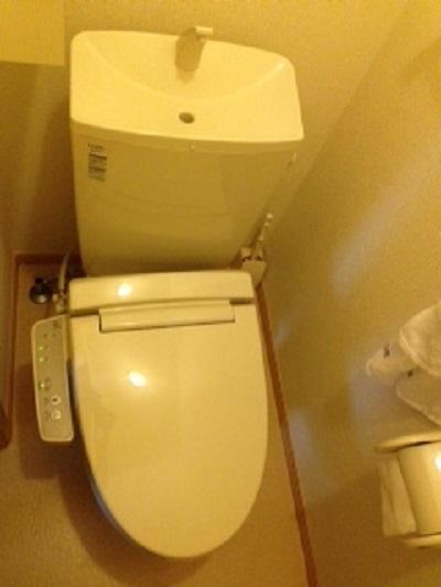 大阪市淀川区にてのトイレつまり事例