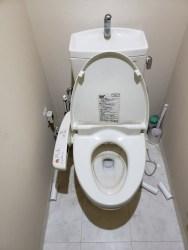大正区にてトイレつまり