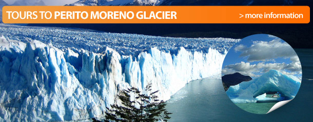 Book tour to Perito Moreno Glacier