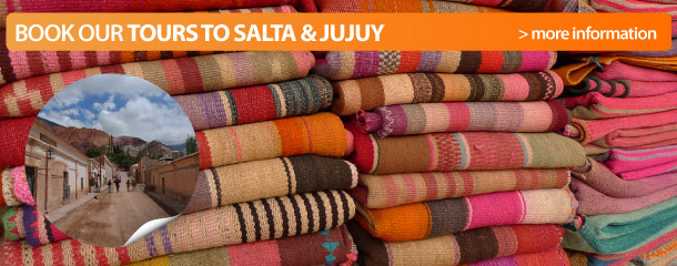 Book our tours to Salta and Jujuy