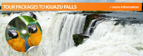Tour packages to Iguazu Falls
