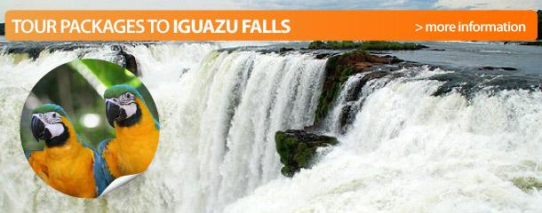 Tour packages to Iguazu Falls