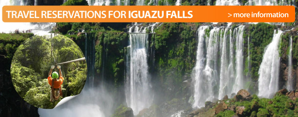 Travel reservations for Iguazu Falls