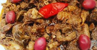 تقلية العيد الكبير بلا بصلة بلا مطيشة بنينة و لذيذة