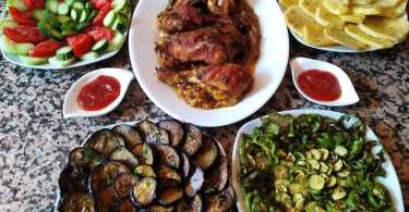 وجبة غداء صحية متكاملة