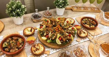 فطور رمضان صحي مغربي خفيف و سريع بالصور