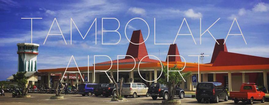 Tambolaka airport Sumba