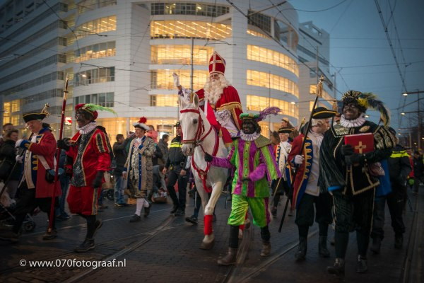 Sinterklaas in Den Haag