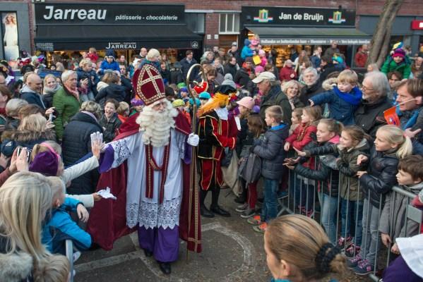 Sinterklaas en pieten in Benoordenhout, Den Haag