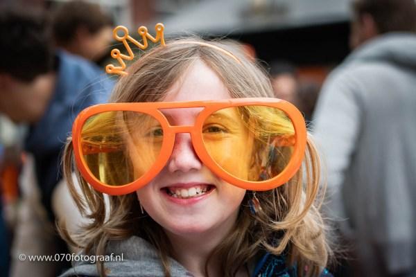 Koningsdag in Benoordenhout in Den Haag