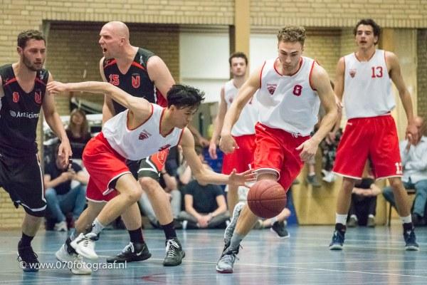 Willem van der Togt te snel voor verdediging UBALL