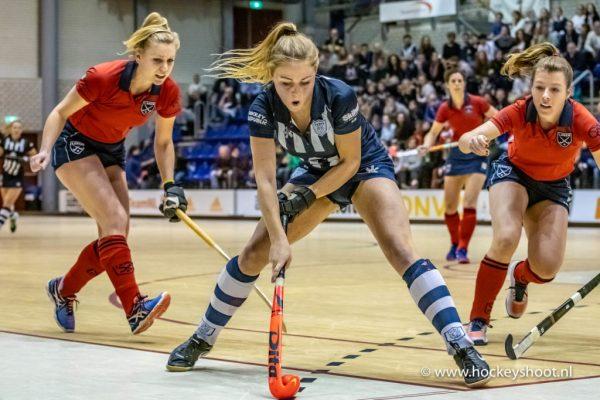 02-02-2019: Hockey Dames: NK Zaalhockey Laren D1 - hdm D1: Rotterdam