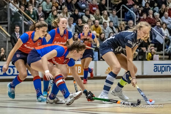 02-02-2019: Hockey MA1: NK Zaalhockey hdm MA1 - SCHC MA1: Rotterdam