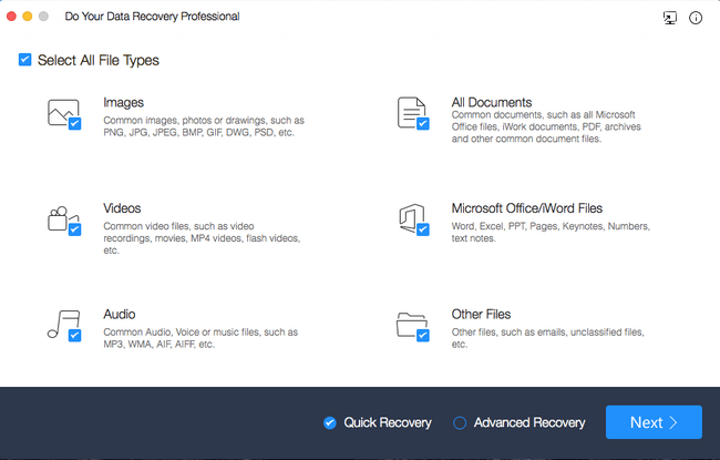 Do Your Data Recovery Professional 5.0 MacOSX