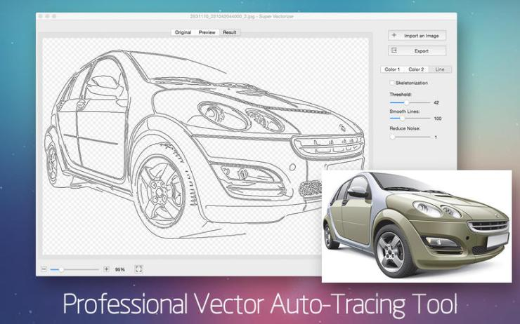 Super Vectorizer 2.0.0 Multilangual Mac OS X