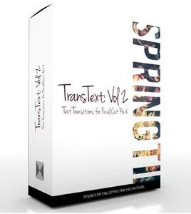 TransText: Volume 2 - Text Transitions for Final Cut Pro X MacOSX