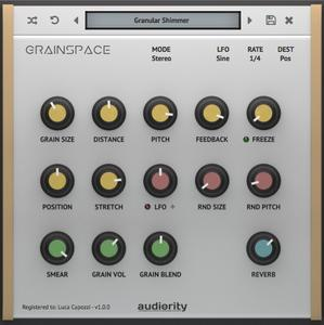 Audiority GrainSpace v1.0.3 WiN / OSX
