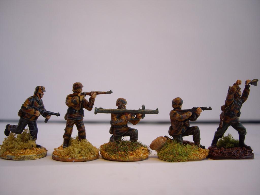 Caesar H052 H053 German Infantry German Panzergrenadier