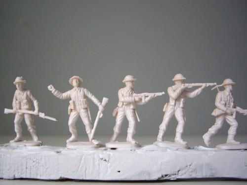 Italeri British Infantry Print